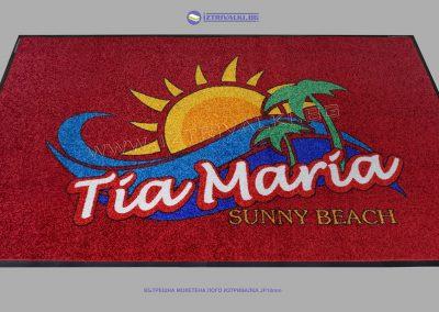 Изтривалка с лого JP10mm- Хотел TIA MARIA Sunny Beach