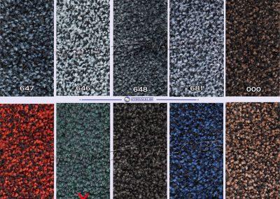 Мокетена IH10-Цветове