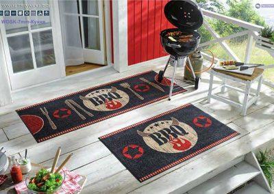 135-2-дизайнерска-изтривалка-с-кант--кухня-Barbeque-135-2